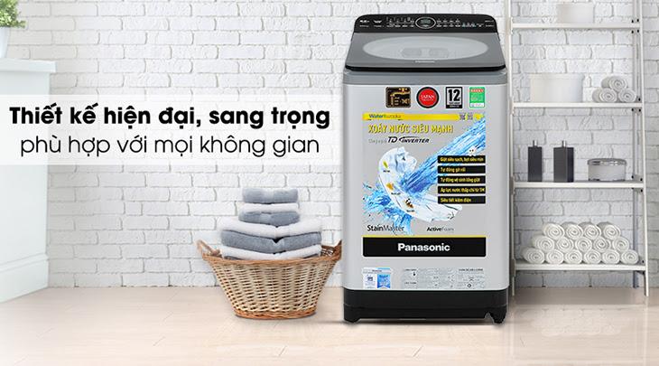 Máy giặt Panasonic Inverter FD95X1 có thiết kế hiện đại và sang trọng