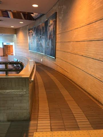 豊田市科学館入口