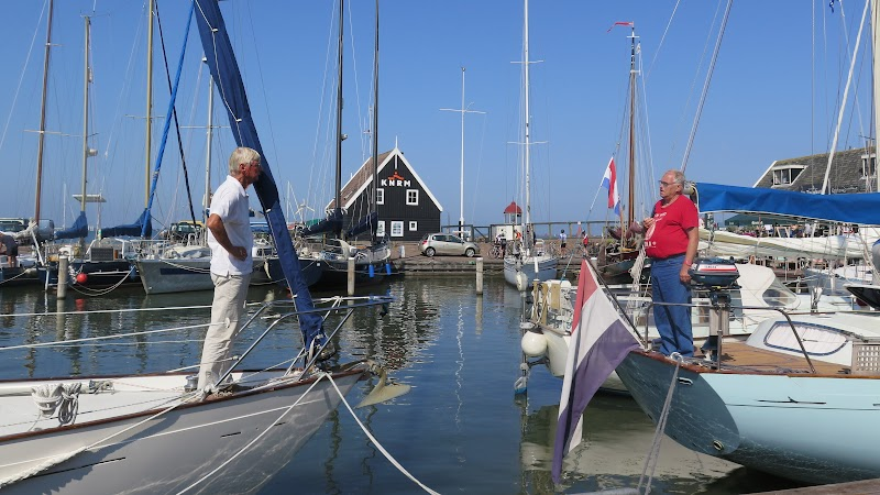 Nicholson Yachts in the Netherlands and Belgium. Here a Nic35 and a Nic48 at the september met in isle Marken