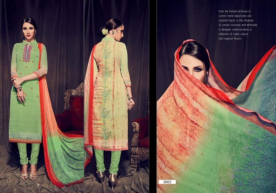 Husna Ara Vol 5 Hansa Prints Dress Material Manufacturer Wholesaler