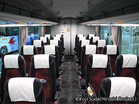 一畑バス「みこと号」 ・836 車内