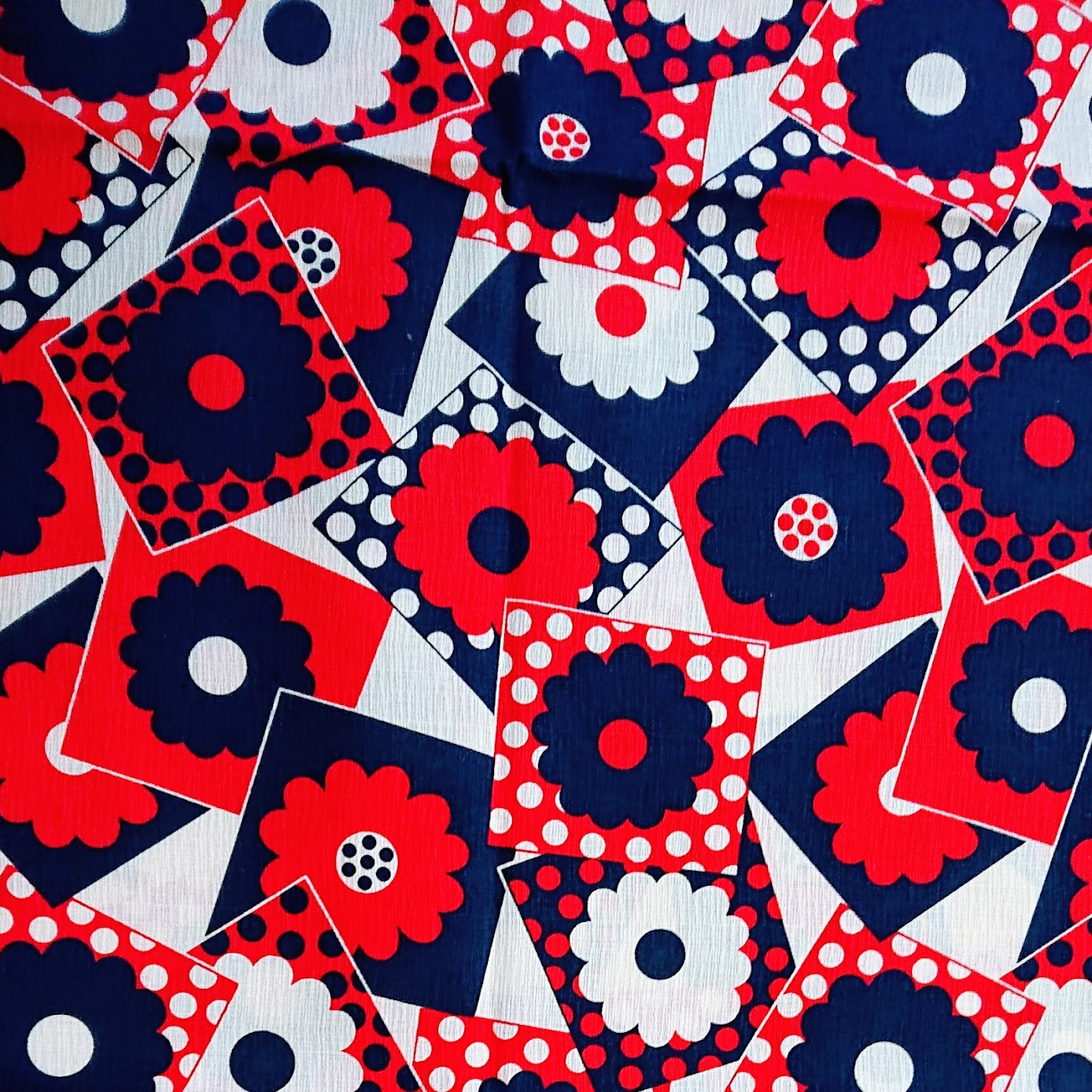Japanese Floral Cotton Print Fabric destined for Every Body Tunic - Fafafoom Studio