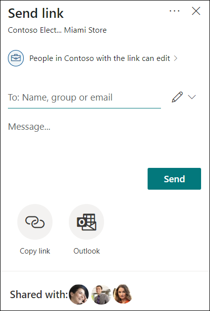 """MC263839: OneDrive: Sharing experience - """"Shared with"""""""