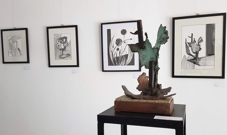 """""""Risco no tempo"""" em exposição na Galeria da Porta dos Figos"""