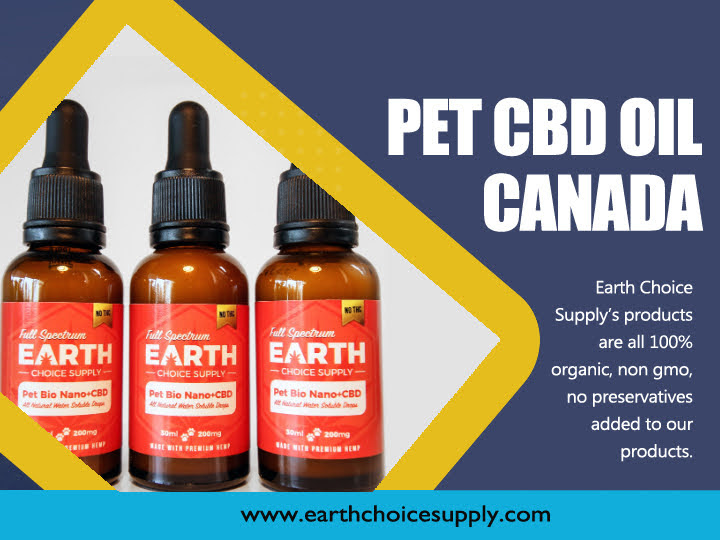 Pet CBD Oil Canada
