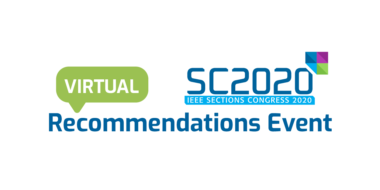 Sections Congress Recommendations Event 2020