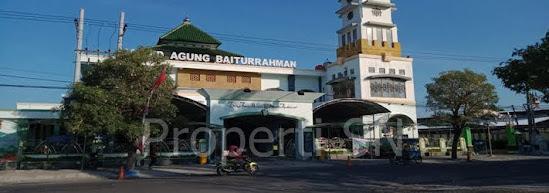 Masjid agung baiturrahman kabupaten Ngawi