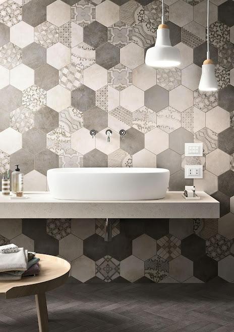 Marazzi Clays Hexagon