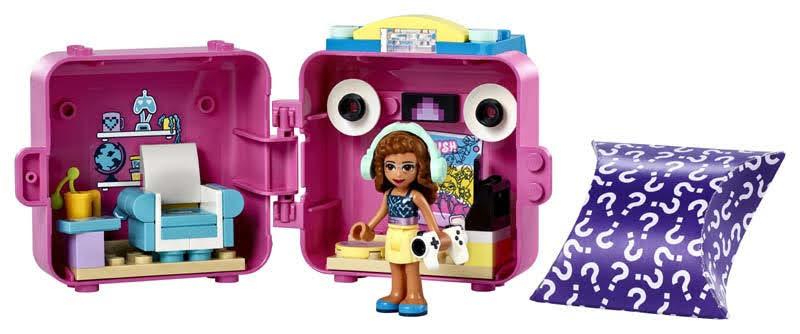 Contenido de LEGO® 41667 Cubo de Gamer de Olivia