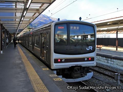 JR東日本 日光線 205系