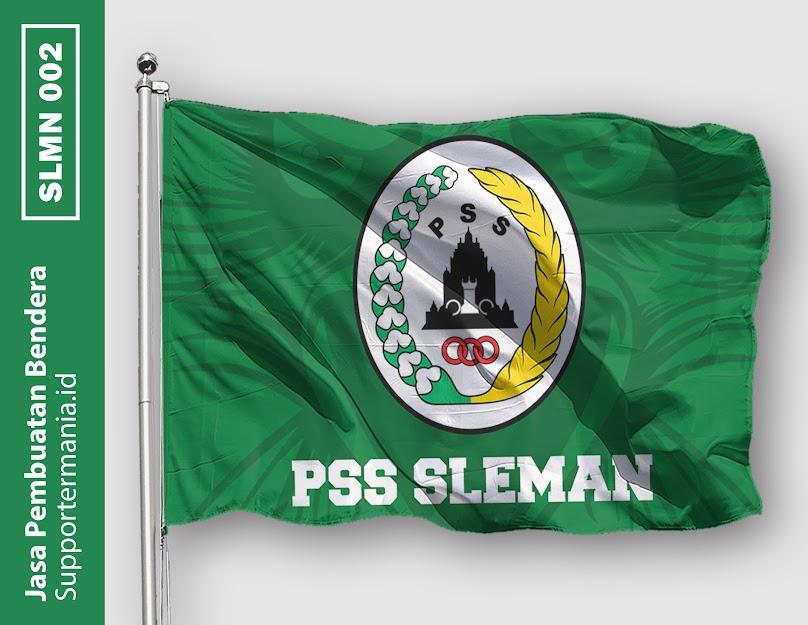 Desain Bendera atau Mini Flag PSS Sleman dan BCS 2