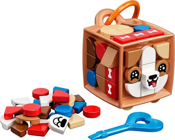 Contenido de Lego® 41927 Adorno para Mochila: Perro