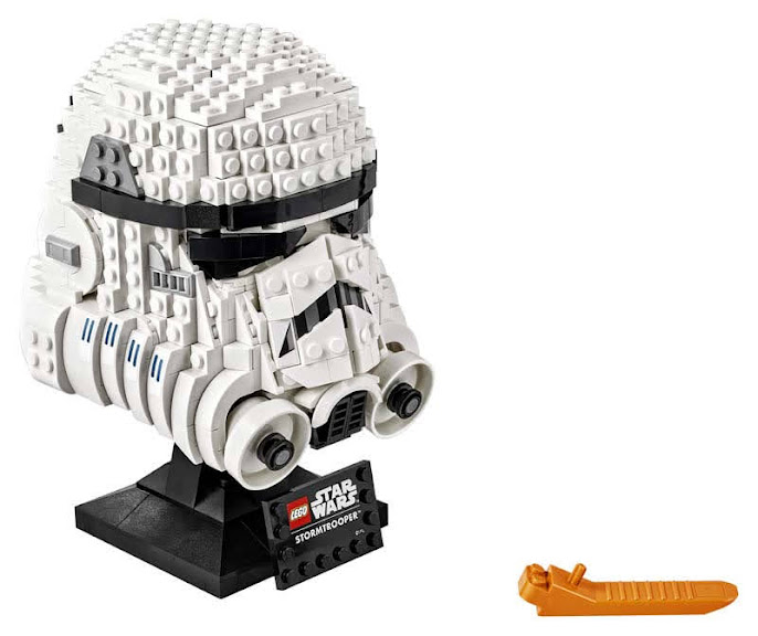 Contenido de Lego® 75276 Casco de Soldado de Asalto