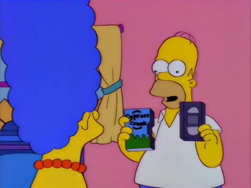 Los Simpsons 8x02 Solo se muda dos veces