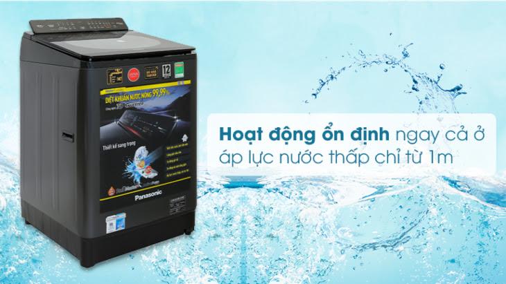 Công nghệ Low Water Pressure có trên máy giặt Panasonic Inveter FD125V1BV
