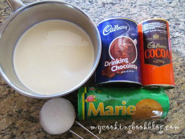 Дукиса със сметана (без масло) и с бисквити Marie