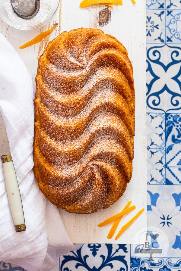 Loaf Cake de naranja y aceite de oliva