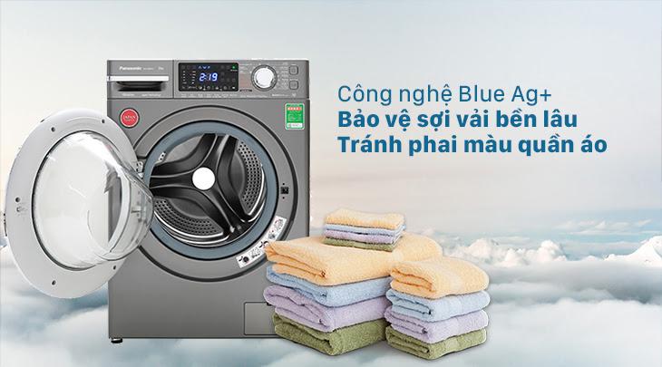 công nghệ giặt nước lạnh Blue Ag+ bảo vệ sợi vải