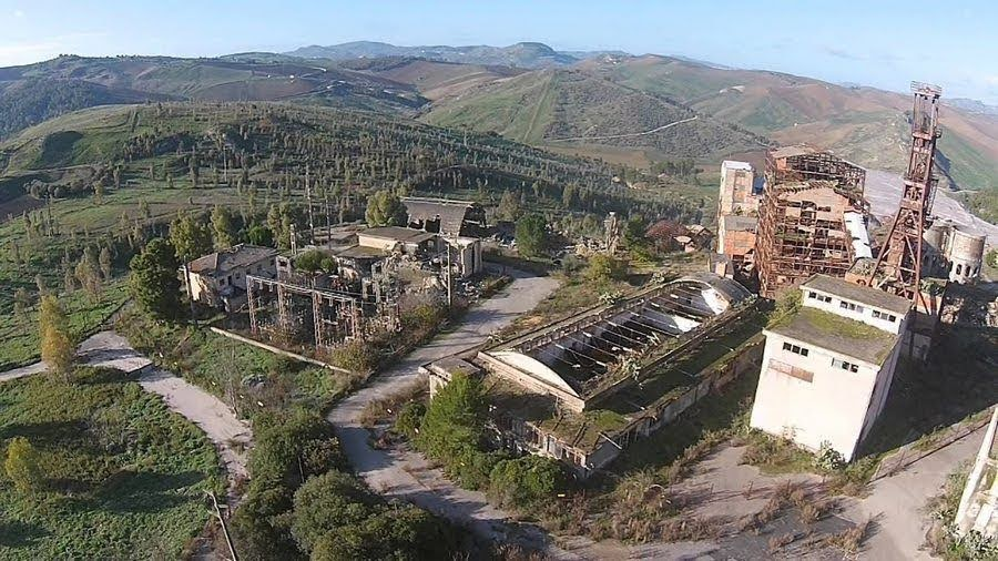 miniera Bosco Palo - Serradifalco