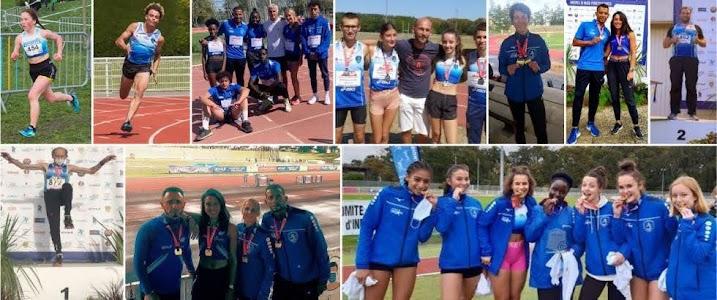 Médaillés de l'EASQY en championnat de France 2020