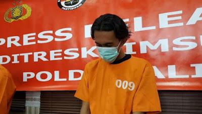 Buat Situs Palsu untuk Menipu, Pria ini Diciduk Polda Bali