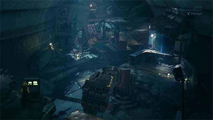 Khu vực lấy Magnify materia ở Chapter 9 - điều khiển 2 tay robot