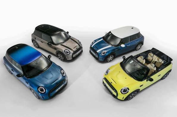 Watch out for the latest MINI