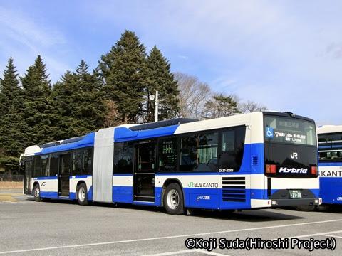 JRバス関東 白河 日野ブルーリボン連節バス 2170 リア