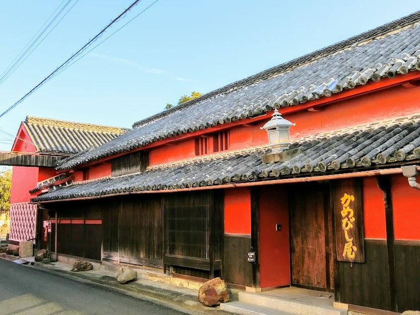 多彩な建築群が残る東讃の港町『引田』