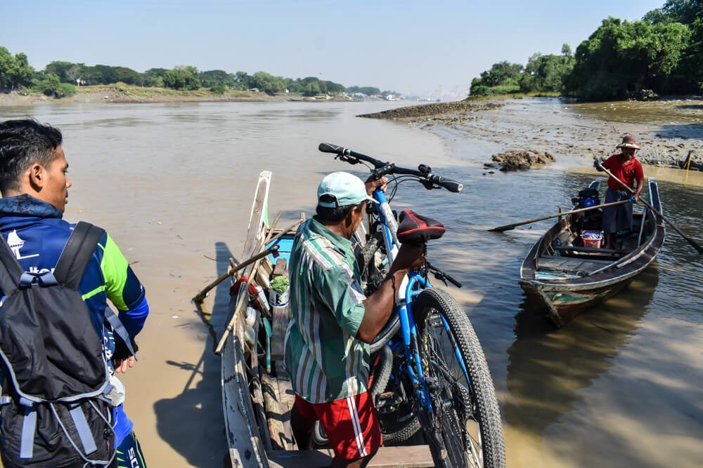 cycling and taking the cycle over ferry from dala to yangon.jpg