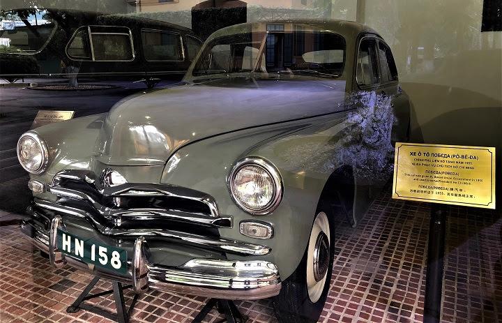 Ngoài ZIS 115, xe ô tô Pobeda được Chính phủ Liên Xô tặng cho Chính phủ Việt Nam năm 1955.