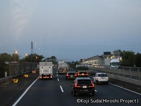 JRバス関東「グラン昼特急8号」 ・・12 2階 最前席からの眺望_18