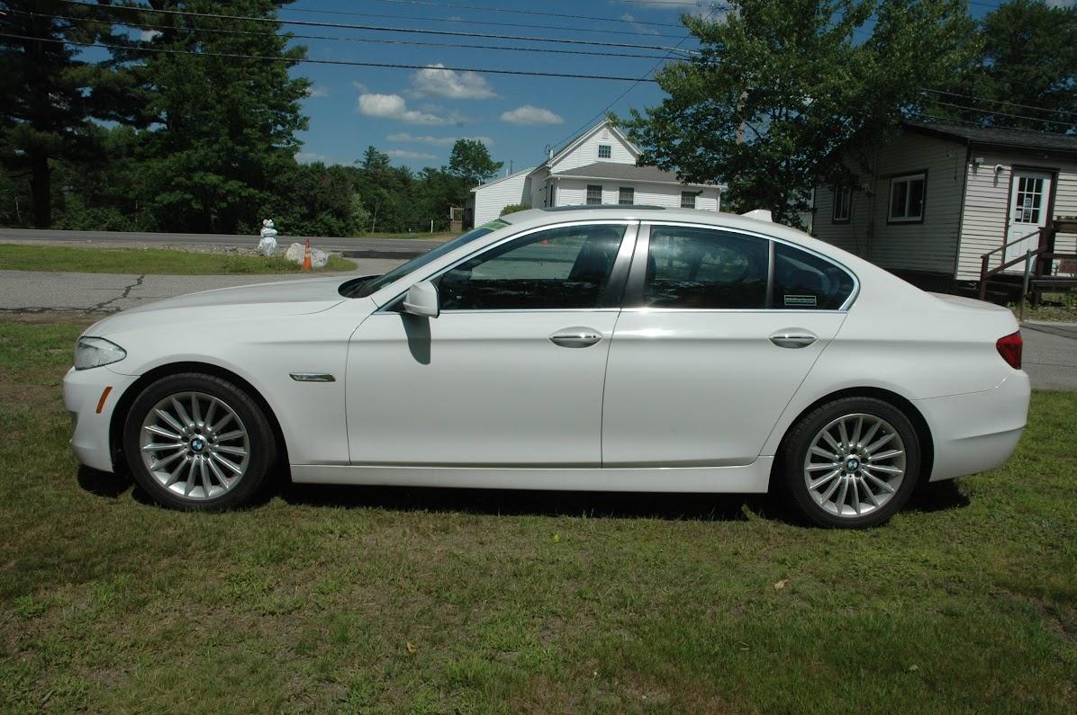 2013 BMW 535xi White