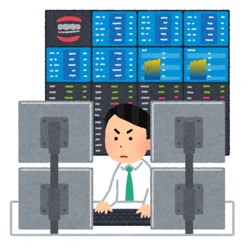 FX、株のトレーダーのイメージ