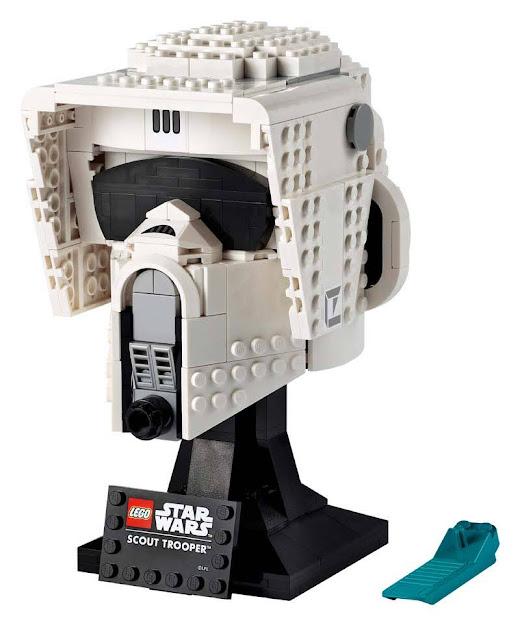 Contenido de Lego® 75305 Casco de Soldado Explorador
