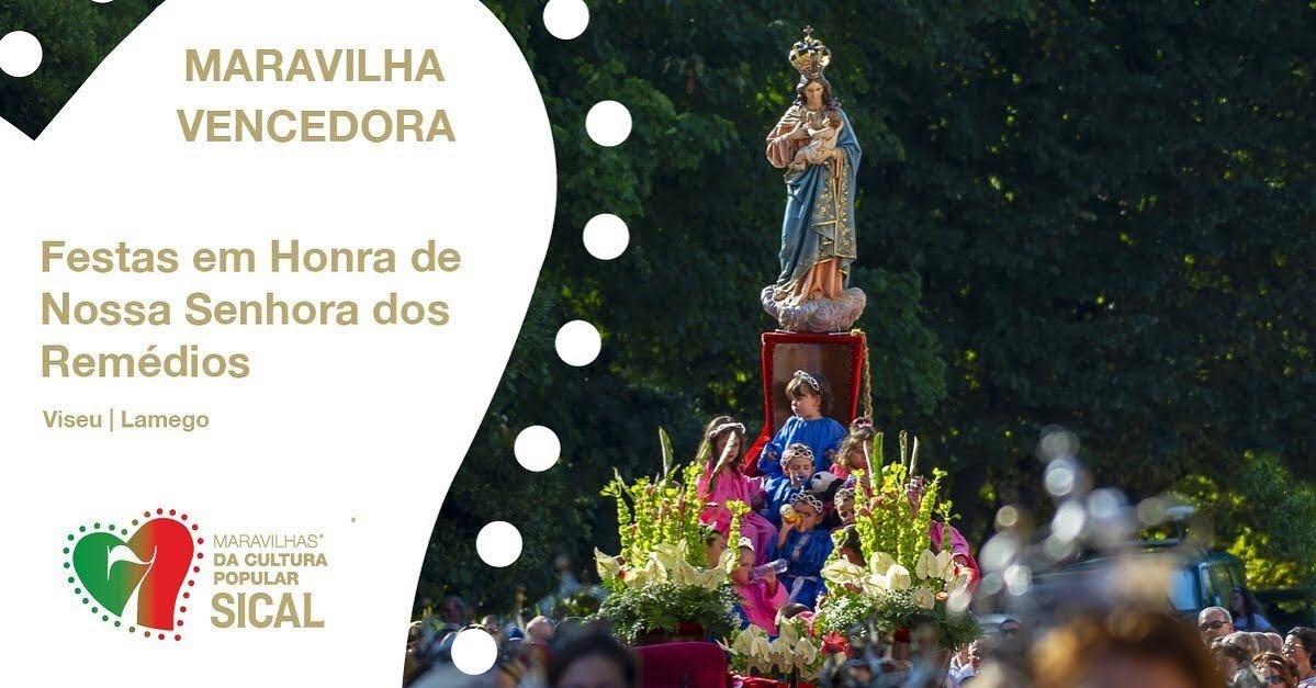 Festas em Honra de Nossa Senhora dos Remédios são uma das 7 Maravilhas da Cultura Popular