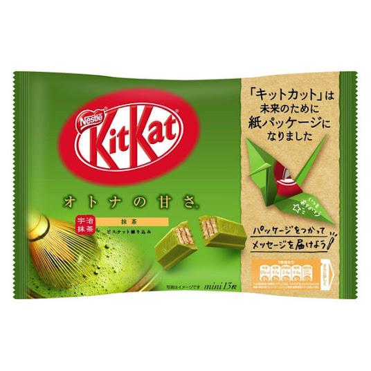 KitKat vị trà xanh - Matcha - Nội địa Nhật Bản