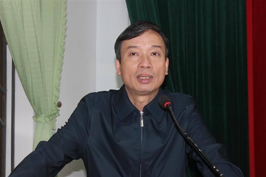 Đồng chí Trần Văn Trí, Chủ tịch UBND phường phát biểu