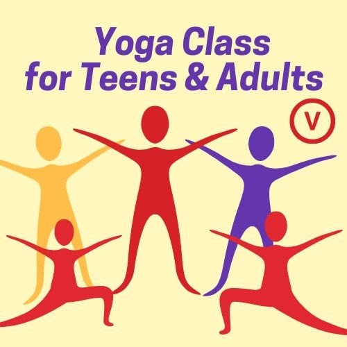 Virtual Yoga Clas for Teens & Adults