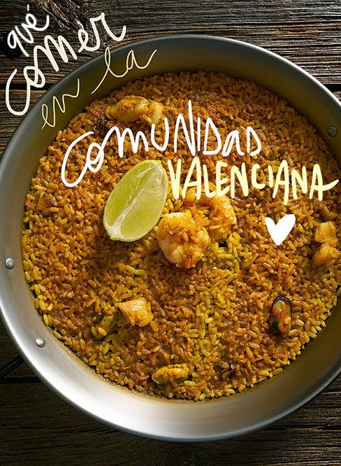que comer en la comunidad valencia