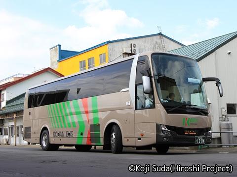 弘南バス「ノクターン号」 33101-3 五所川原駅前にて
