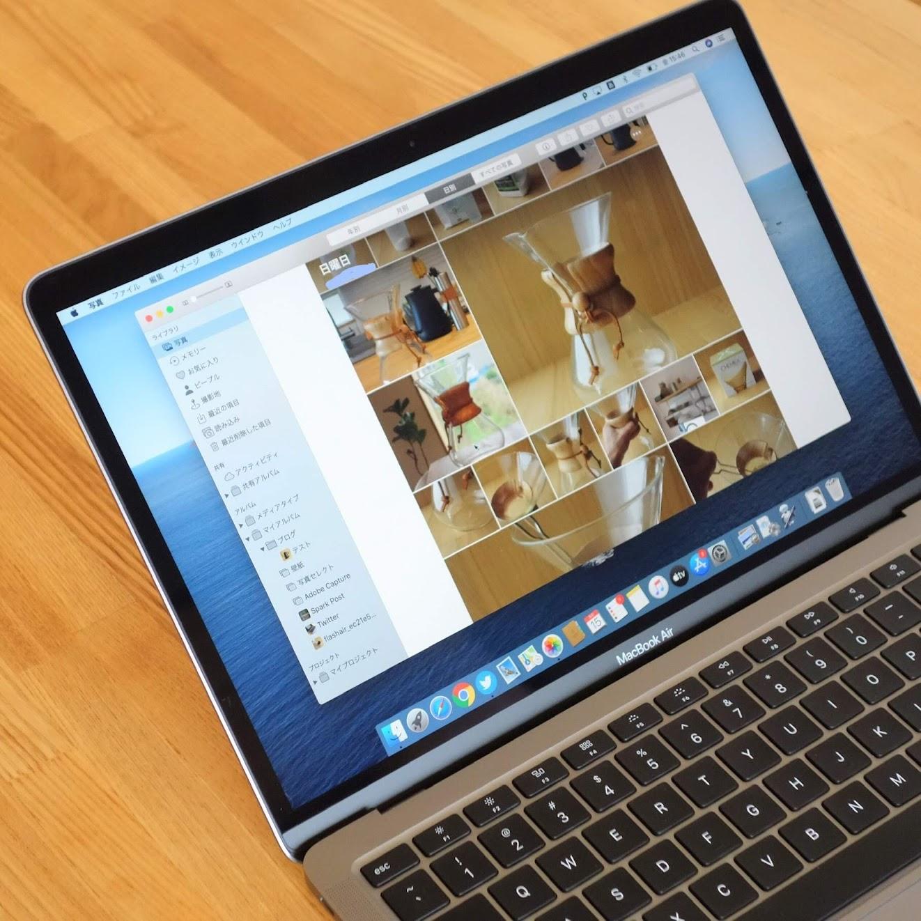 MacBook Air 2020写真