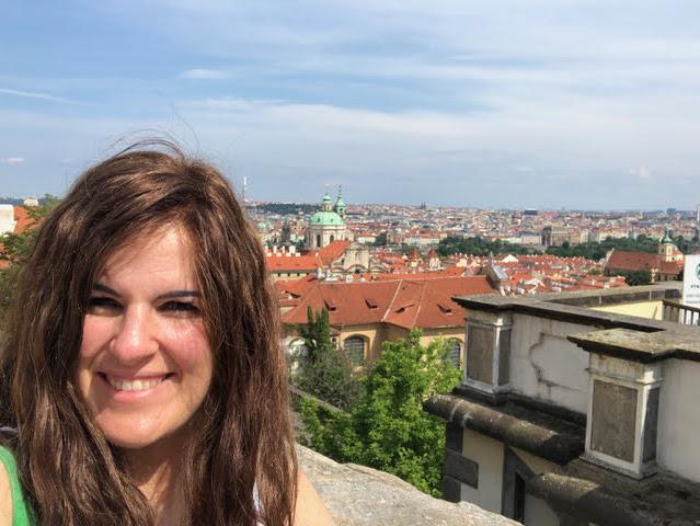 Isabel en Praga.