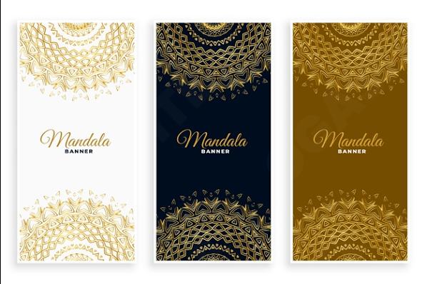 Desain X Banner Mandala