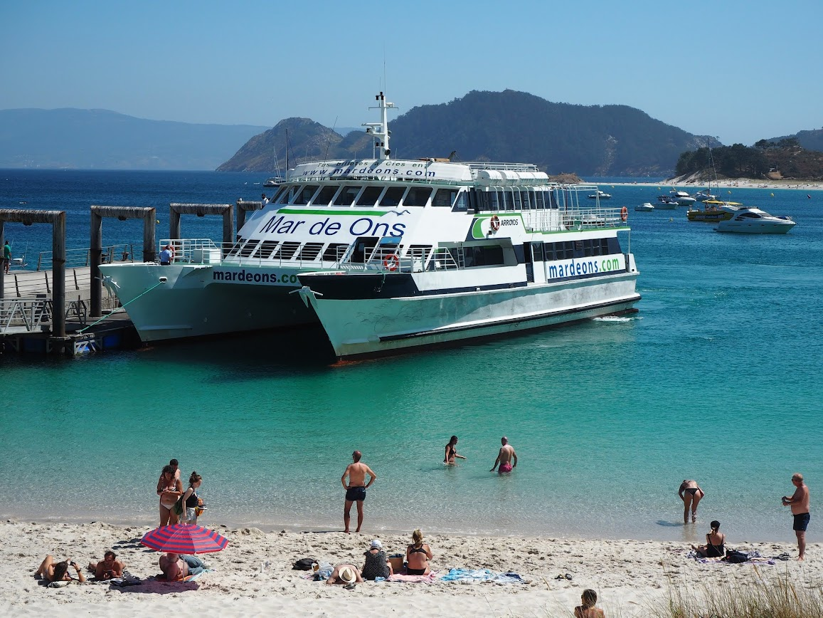 barco a las islas cies