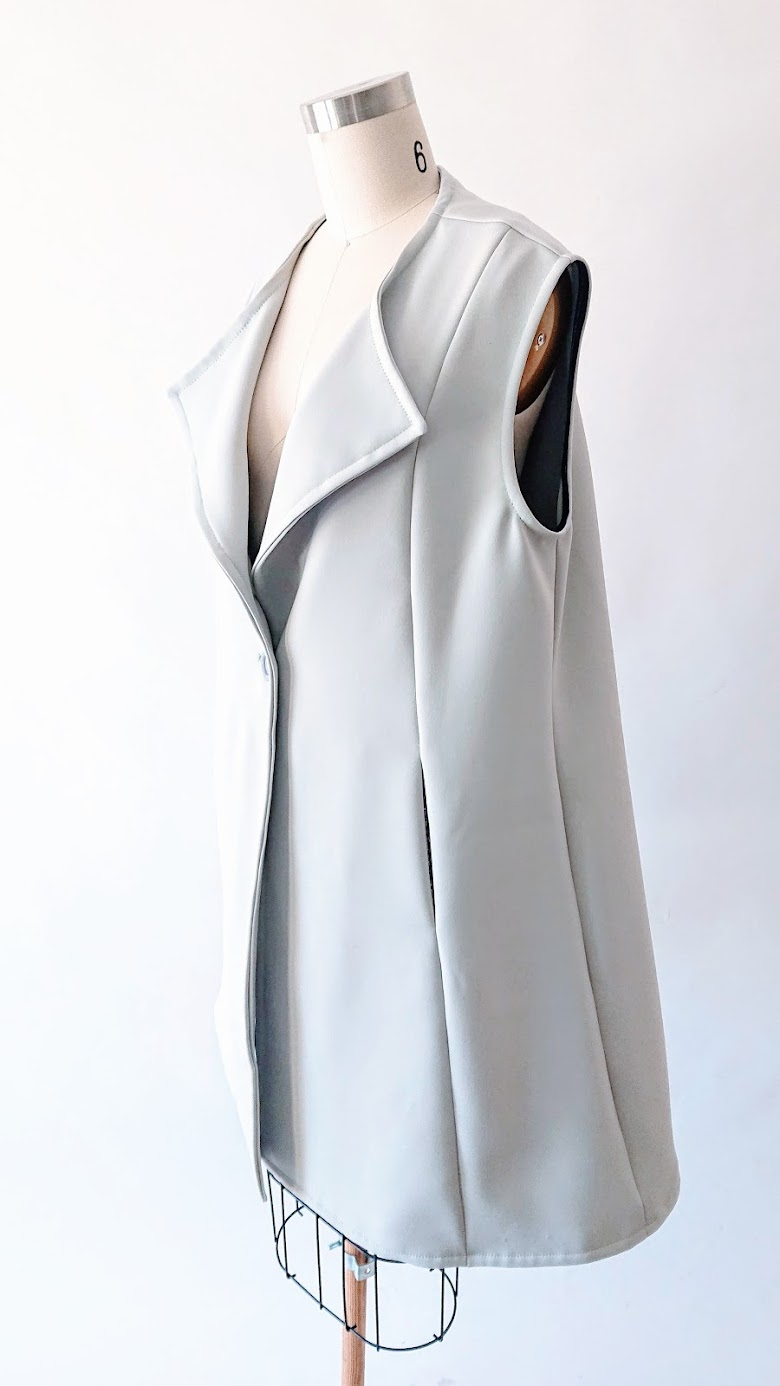 Sleeveless Coat - Reimagine Project | FAFAFOOM STUDIO