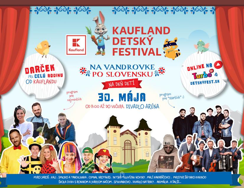 Kaufland – Detský festival