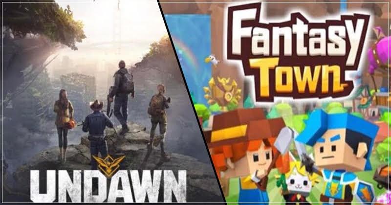 Garena เปิดตัว 2 เกมใหม่ Undawn และ Fantasy Town