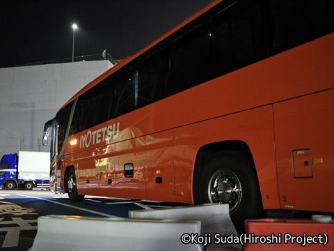 伊予鉄バス「道後エクスプレスふくおか号」 5620 めかりパーキングエリア_05