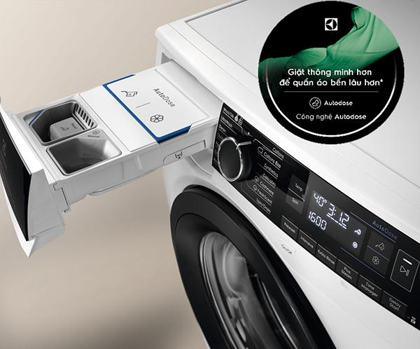 Công nghệ AutoDose trên máy giặt Electrolux